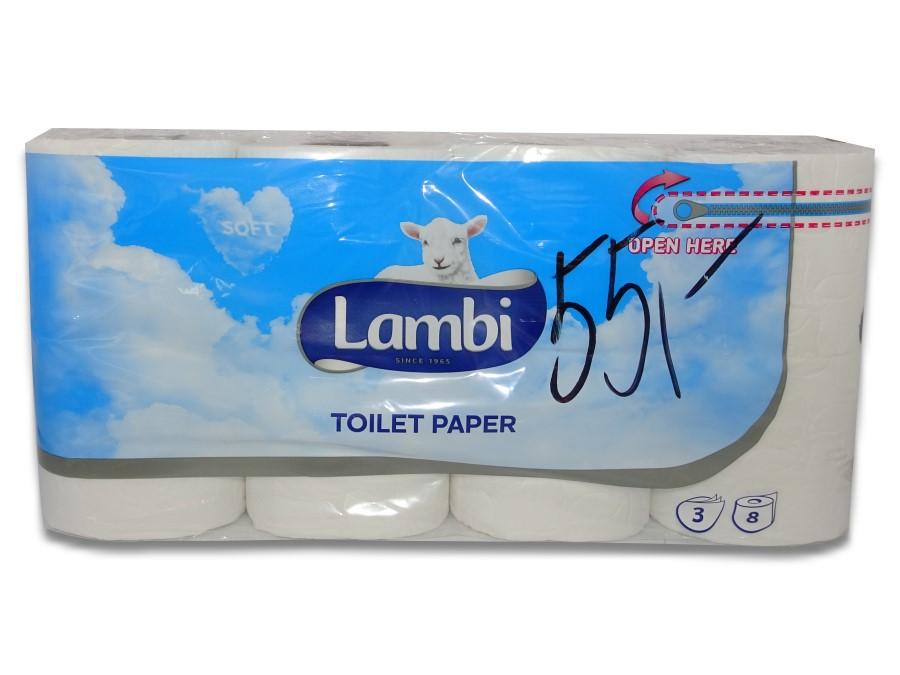 Lambi toaletní papír