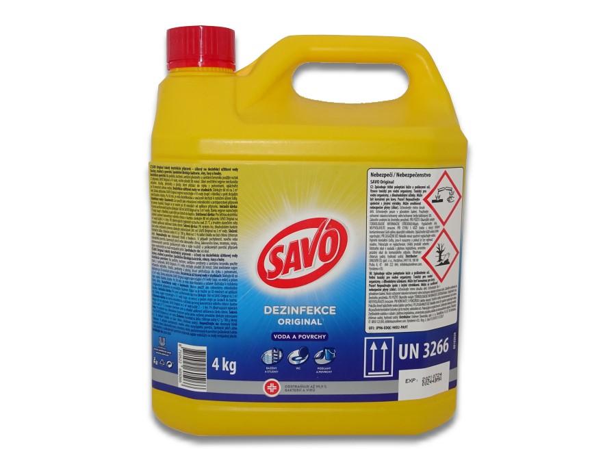 SAVO univerzální dezinfekce 4 kg